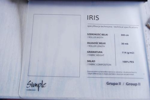 Wzorniki – Rolety rzymskie – iris 6