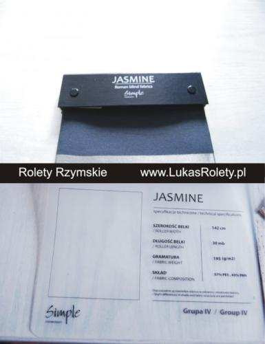 Wzorniki – Rolety rzymskie – jasmine 1