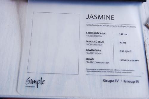 Wzorniki – Rolety rzymskie – jasmine 4