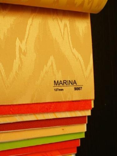 Wzorniki - Zaluzje pionowe - verticale - Marina 001