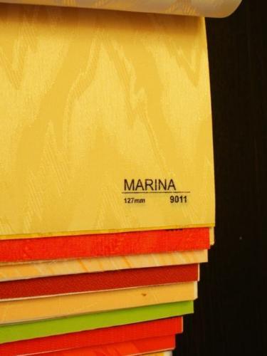 Wzorniki - Zaluzje pionowe - verticale - Marina 007