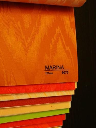 Wzorniki - Zaluzje pionowe - verticale - Marina 008