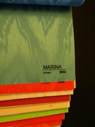 Wzorniki - Zaluzje pionowe - verticale - Marina 009
