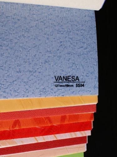 Wzorniki - Zaluzje pionowe - verticale - Vanessa 011