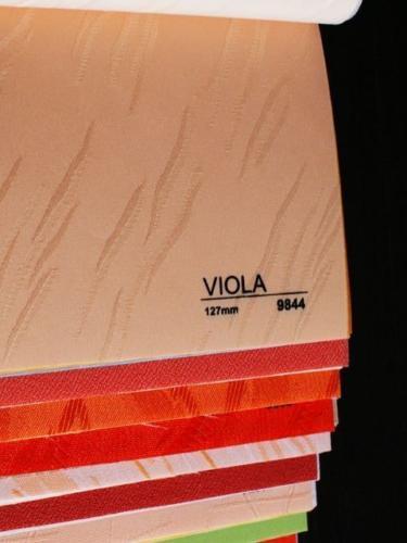 Wzorniki - Zaluzje pionowe - verticale - Viola 006