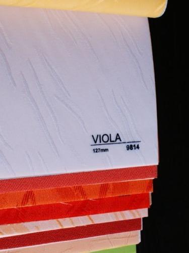 Wzorniki - Zaluzje pionowe - verticale - Viola 007