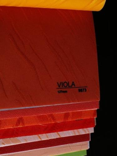 Wzorniki - Zaluzje pionowe - verticale - Viola 010