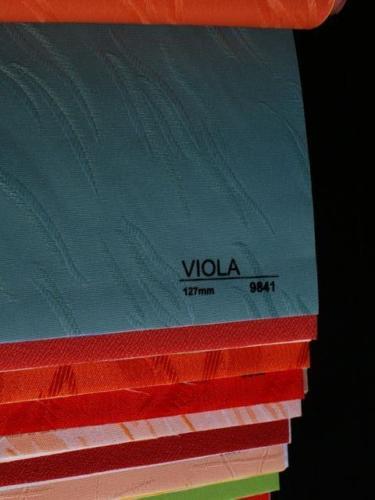 Wzorniki - Zaluzje pionowe - verticale - Viola 014