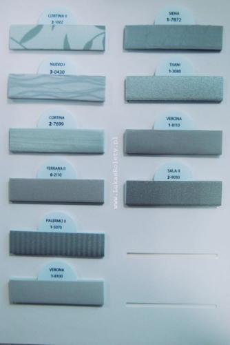 Wzorniki - zaluzje plisowane plisy 004