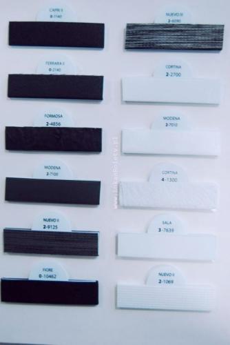Wzorniki - zaluzje plisowane plisy 005