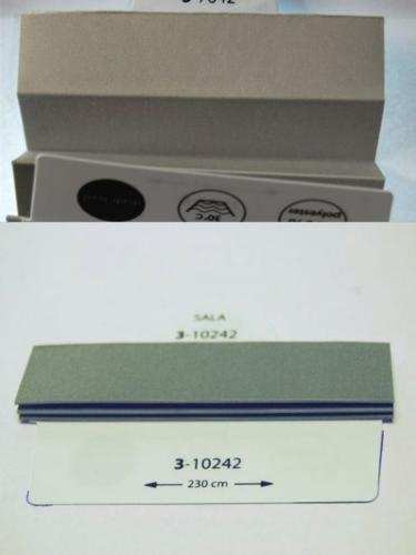 Wzorniki - zaluzje plisowane plisy 008
