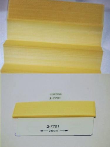 Wzorniki - zaluzje plisowane plisy 012