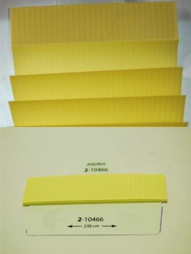Wzorniki - zaluzje plisowane plisy 016