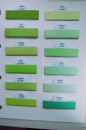 Wzorniki - zaluzje plisowane plisy 018