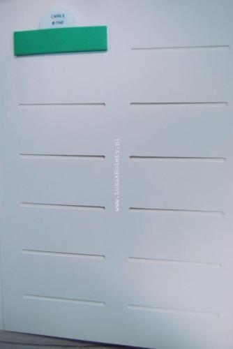 Wzorniki - zaluzje plisowane plisy 019