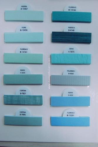 Wzorniki - zaluzje plisowane plisy 020