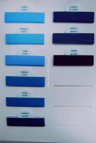 Wzorniki - zaluzje plisowane plisy 021