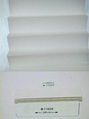 Wzorniki - zaluzje plisowane plisy 025