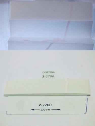 Wzorniki - zaluzje plisowane plisy 030