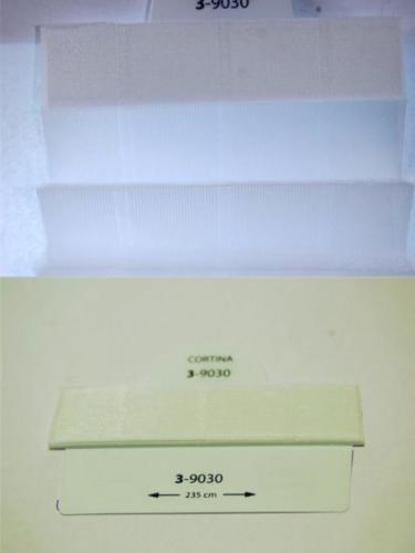 Wzorniki - zaluzje plisowane plisy 037