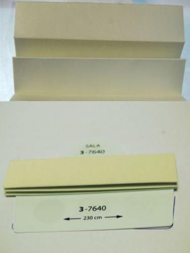 Wzorniki - zaluzje plisowane plisy 045