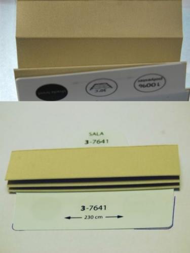 Wzorniki - zaluzje plisowane plisy 047