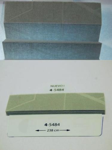 Wzorniki - zaluzje plisowane plisy 069