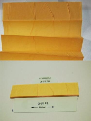 Wzorniki - zaluzje plisowane plisy 070