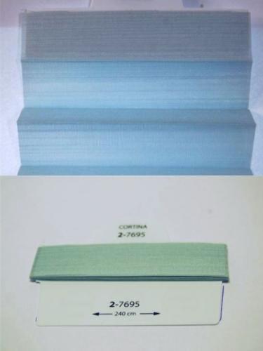 Wzorniki - zaluzje plisowane plisy 075