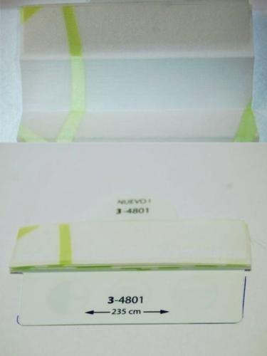 Wzorniki - zaluzje plisowane plisy 082