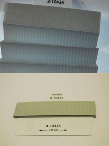 Wzorniki - zaluzje plisowane plisy 084