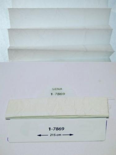 Wzorniki - zaluzje plisowane plisy 090