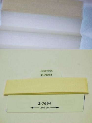 Wzorniki - zaluzje plisowane plisy 096