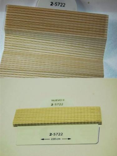 Wzorniki - zaluzje plisowane plisy 100