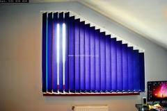 Galeria żaluzje pionowe verticale skosy 2