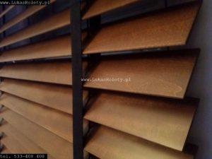 żaluzje drewniane Łódź