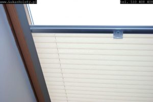 Plisy na okna dachowe Łódź
