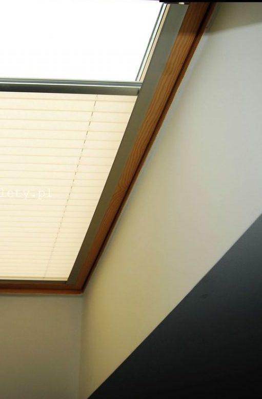Plisa na okna dachowe - osprzęt silver