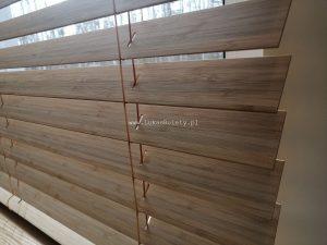 Żaluzje bambusowe Łódź