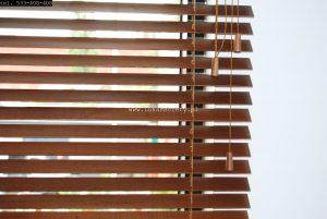 Drewniane żaluzje